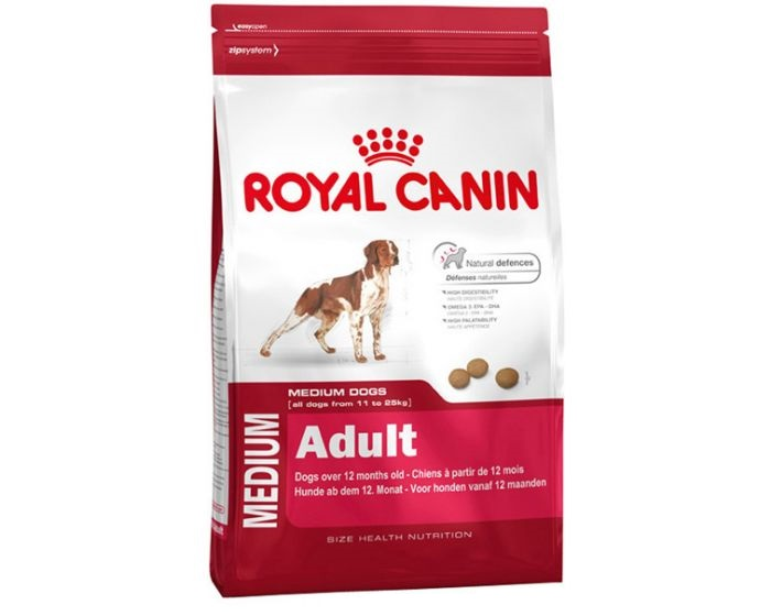 Royal Canin Medium Adult Dog Food 4 Kg