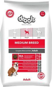 Drools Dry Dog Food Adult Medium Breed 3Kg