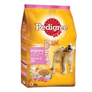 Pedigree Chicken And Milk Puppy Dog Food 1.2KG