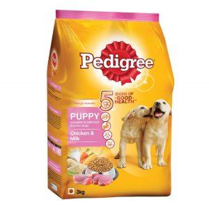 Pedigree Chicken And Milk Puppy Dog Food 3KG