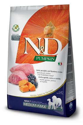 Farmina N&D Pumpkin – Lamb & Blueberry