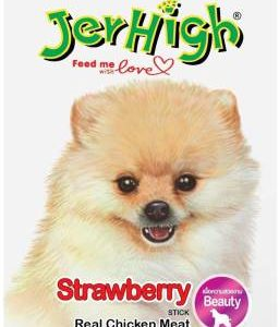 jerhigh Strawberry Fruit Dog Treat (70 g)